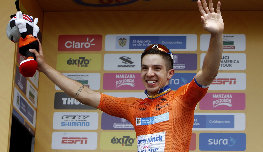 """Álvaro Hodeg Tour Colombia líder: Hodeg: """"Esta victoria es más de mi equipo que mía"""""""