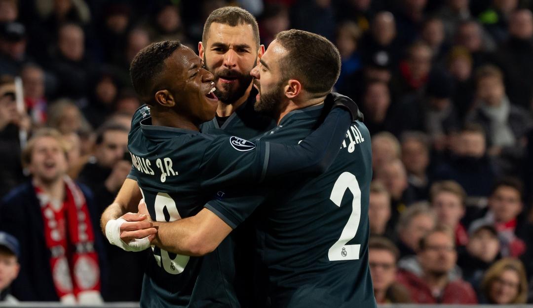 real madrid: Real Madrid se lleva una victoria de territorio holandés