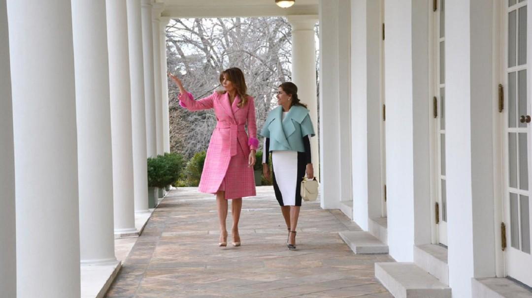 El polémico vestido de la Primera Dama