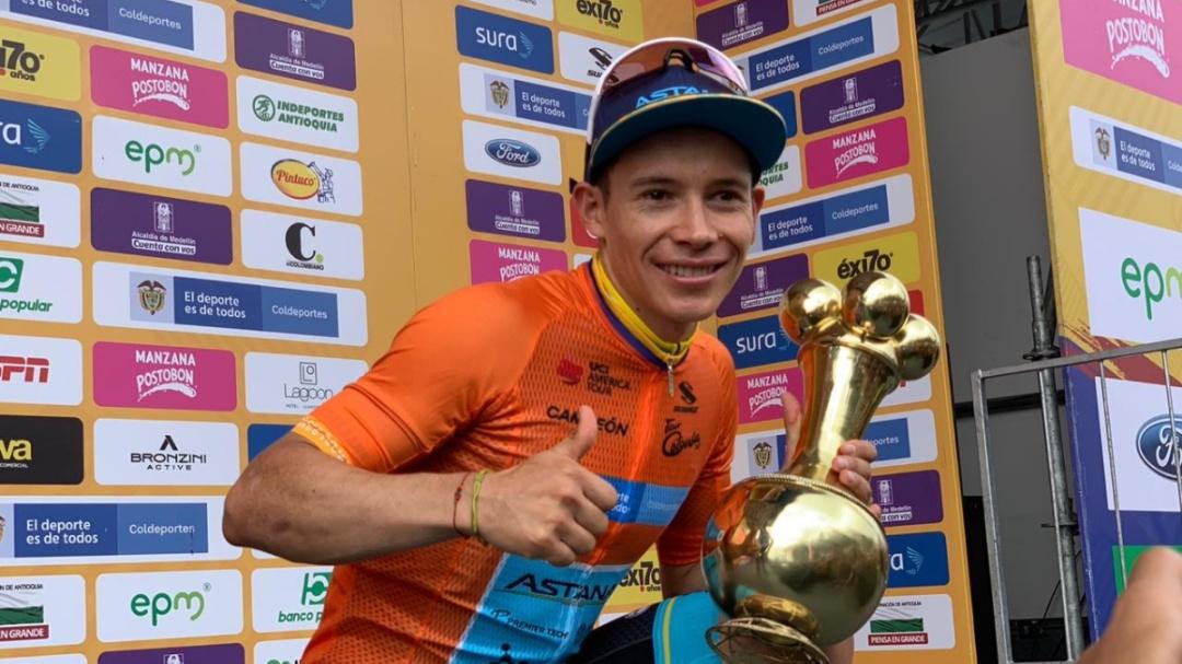 Miguel Ángel López es el campeón del Tour Colombia