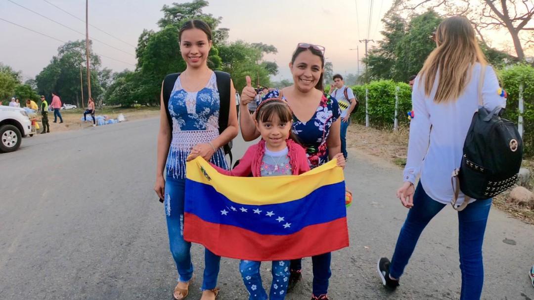 Las imágenes de la esperanza de una nueva Venezuela