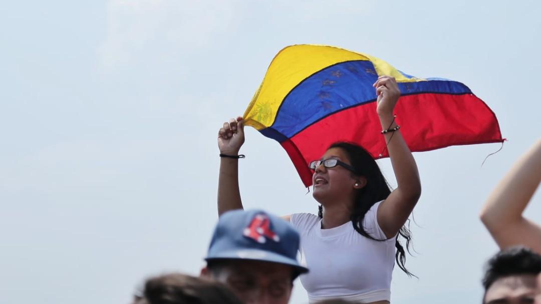 Así se ve la fiesta musical por Venezuela