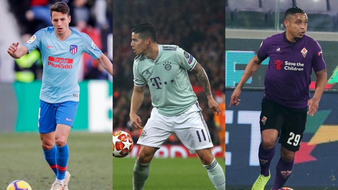 Los partidos de los jugadores de la Selección en el exterior