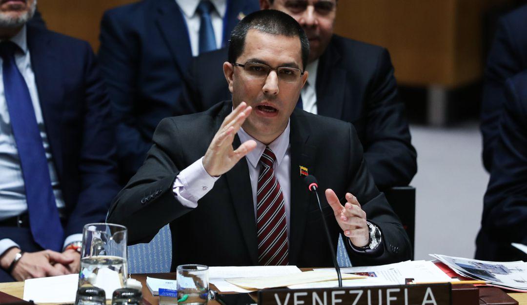 Diplomáticos en Viena abandonan la sala durante alocución de Jorge Arreaza