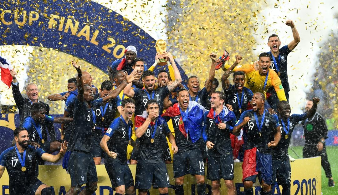 Regalo Paul Pogba selección de Francia Mundial Rusia 2018