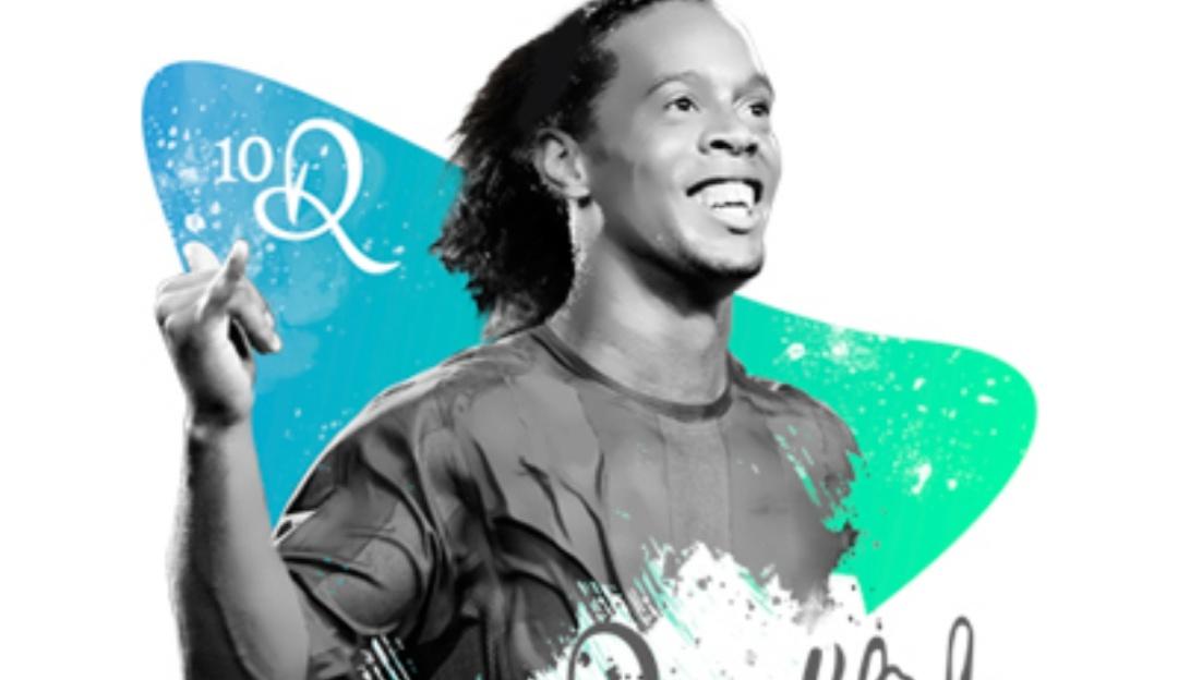 Ronaldinho confirma visita a Bogotá los días 14 y 15 de junio