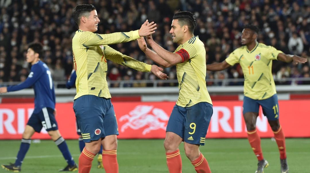 Colombia inició con victoria ante Japón la era Queiroz