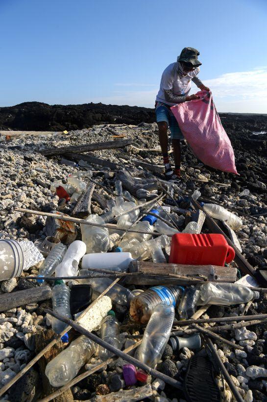 Contaminación plástico: Un monstruo en el paraíso: el plástico amenaza la vida en Galápagos