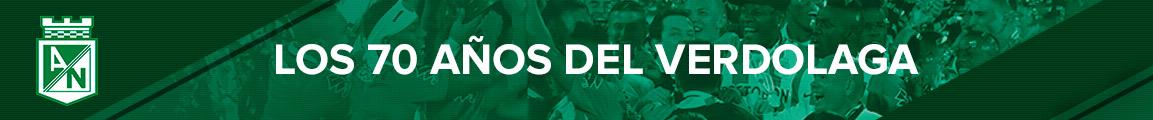 Atlético Nacional 70 años