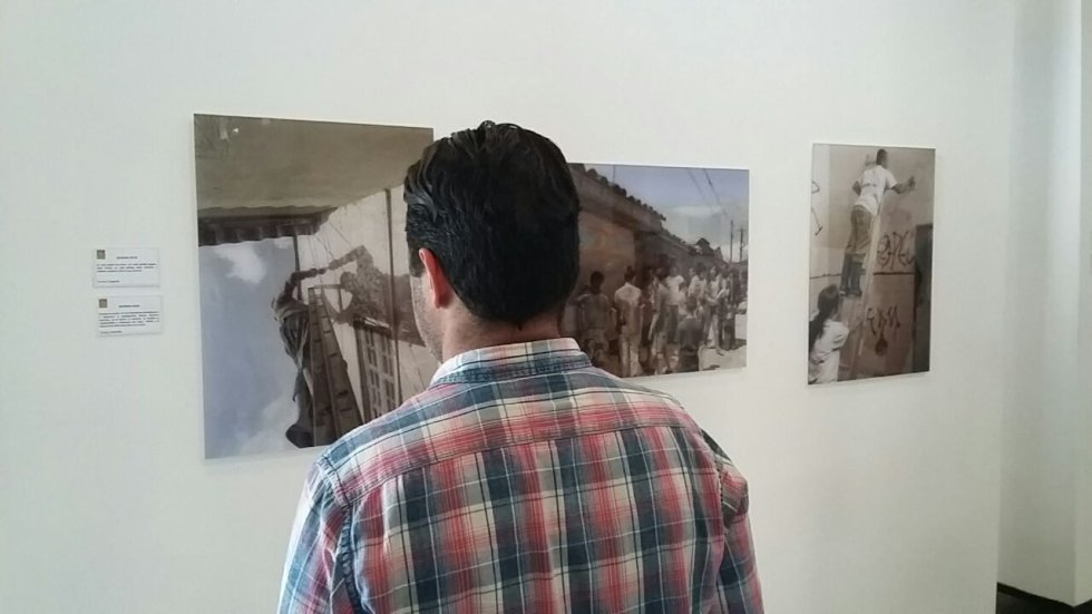 En el museo de Arte Moderno del Quindío, Maquí, ubicado en la antigua Estación del Ferrocarril se puede observar la exposición.