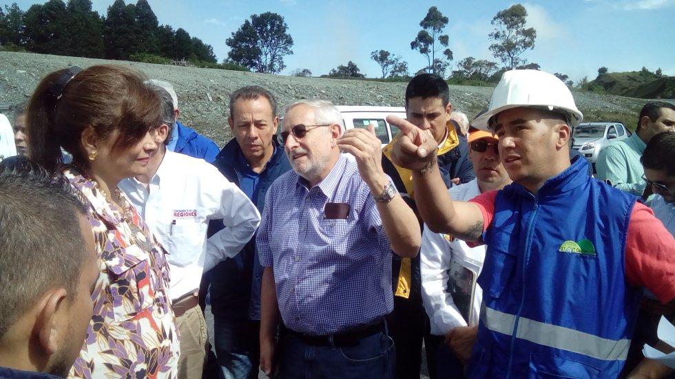 Contratistas de la Unión Temporal Segundo Centenario explican como avanzan obras de mitigación ambiental del túnel de la Línea