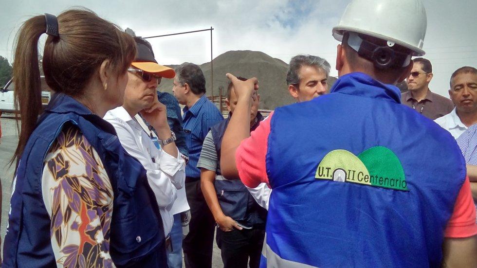 Defensora del Pueblo del Quindío, Piedad Correal verifica cumplimientos en mesa de seguimiento ambiental