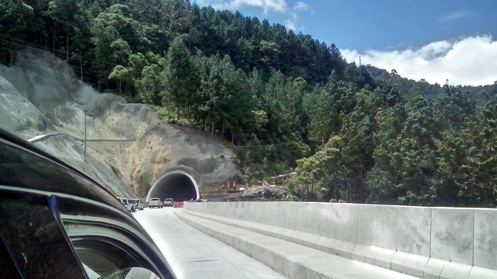 Obras de mitigación ambiental en los alrededores de los túneles