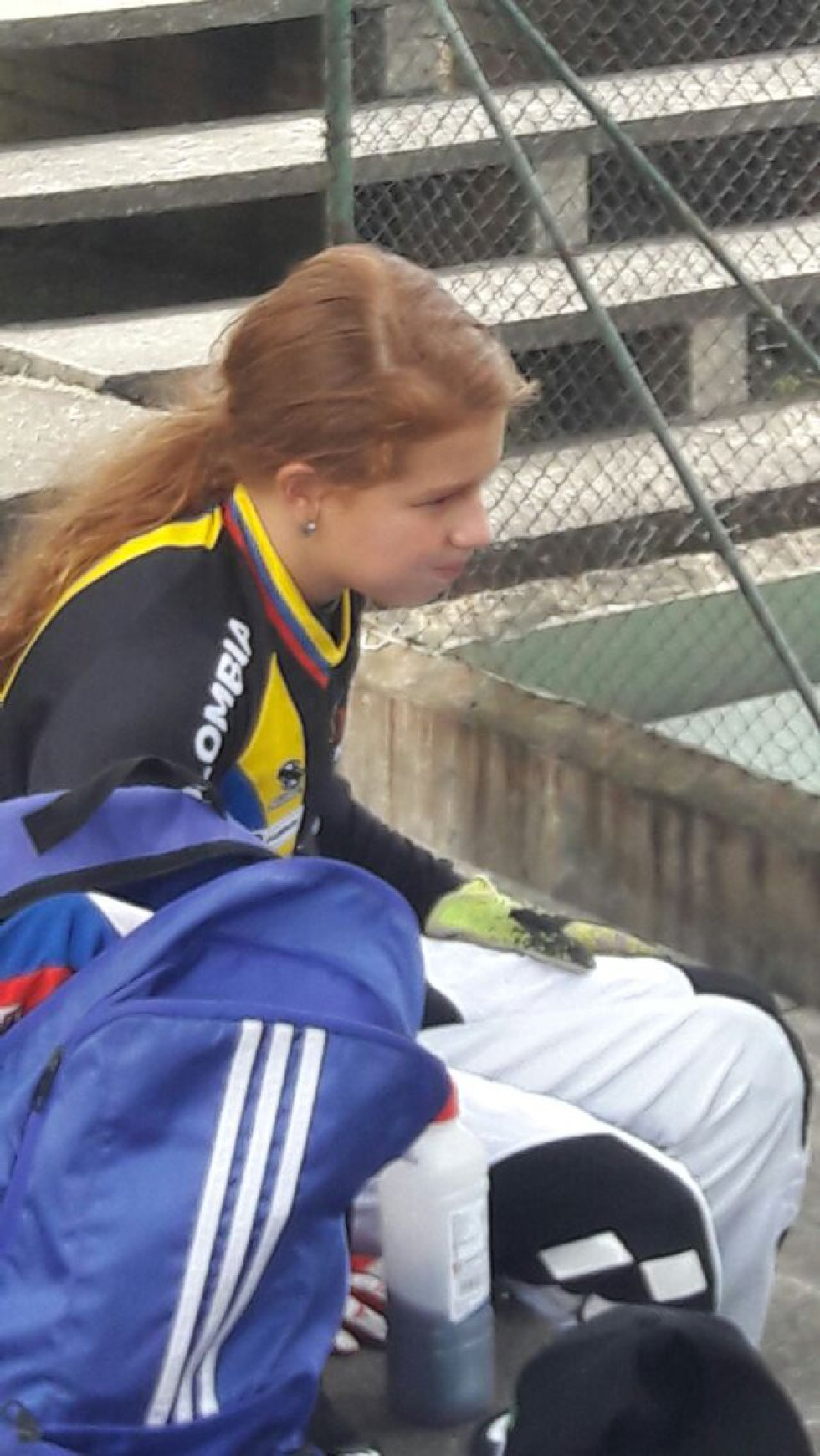 Silvana después de los entrenamientos