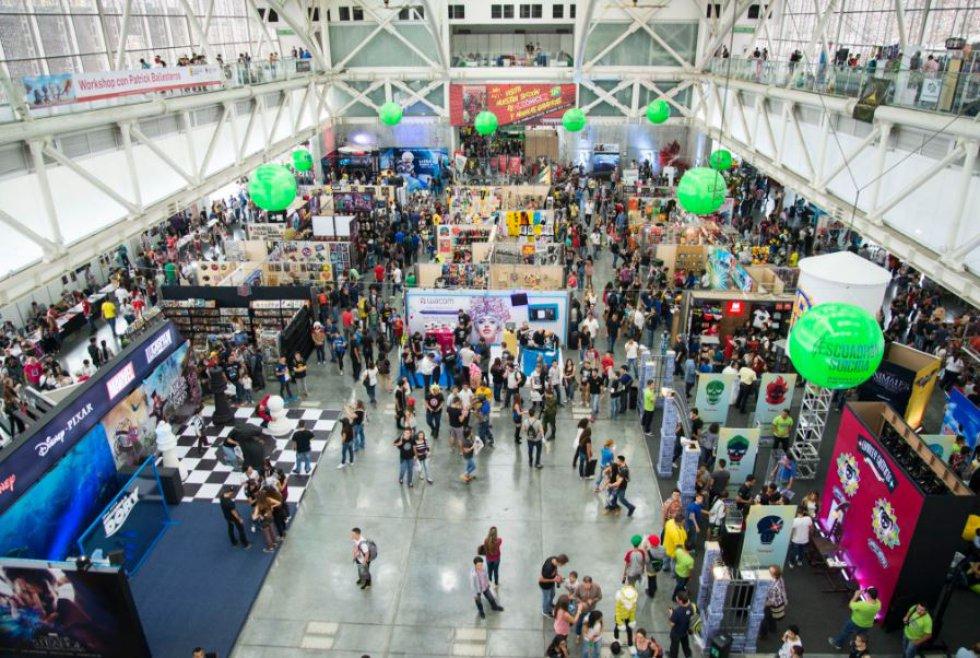 Comic Con estará hasta el domingo en el Pabellón Verde de Plaza Mayor.