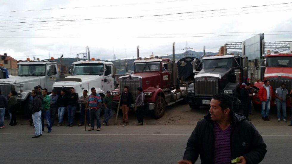 Tras 24 días de paro camionero, se alteró el orden público en Boyacá: Tras 24 días de paro camionero, se alteró el orden público en Boyacá