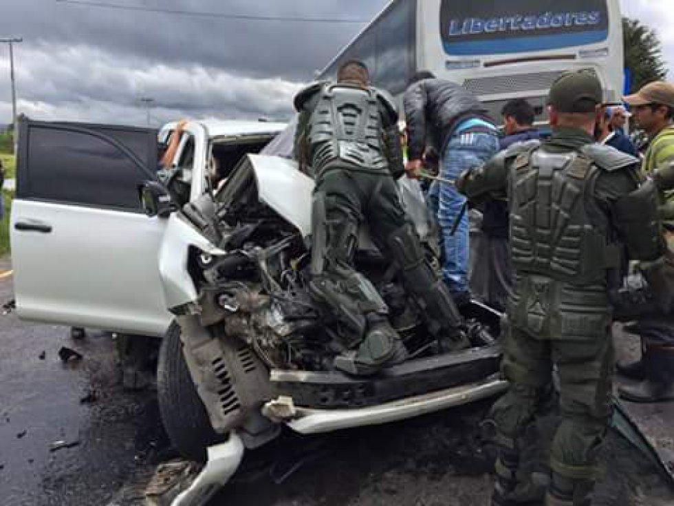 El Gobierno Nacional suspendió temporalmente la mesa de negociaciones con los camioneros, luego de que algunas informaciones relacionaran el accidente sufrido por el gobernador de Boyacá, Carlos Amaya, con los manifestantes en Tunja.