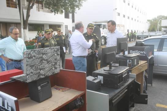 Productos ilegales Parley: Polfa y Rentas combaten la