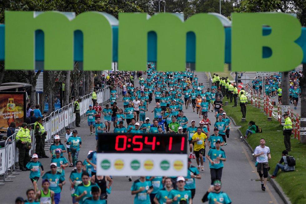 Entre 12.000 y 14.000 personas participaron en la primera MMB.