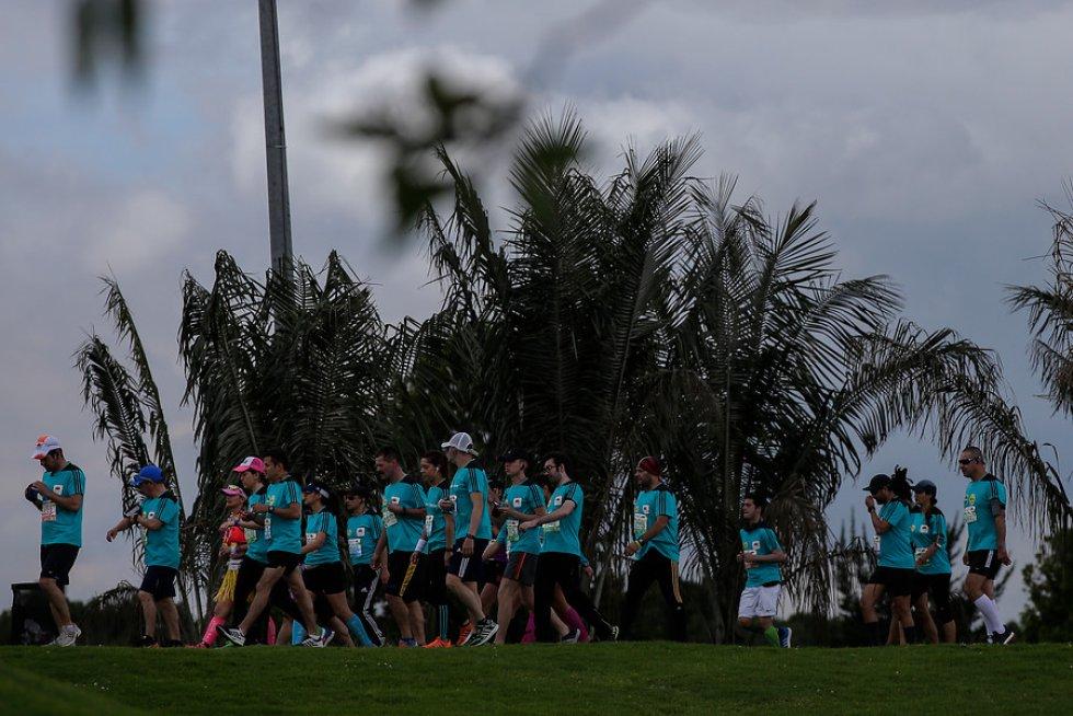 En el Medio Maratón de este año hubo representantes de 41 países,entre ellos fondistas de Baréin, Portugal y Dinamarca, que lohicieron por primera vez.