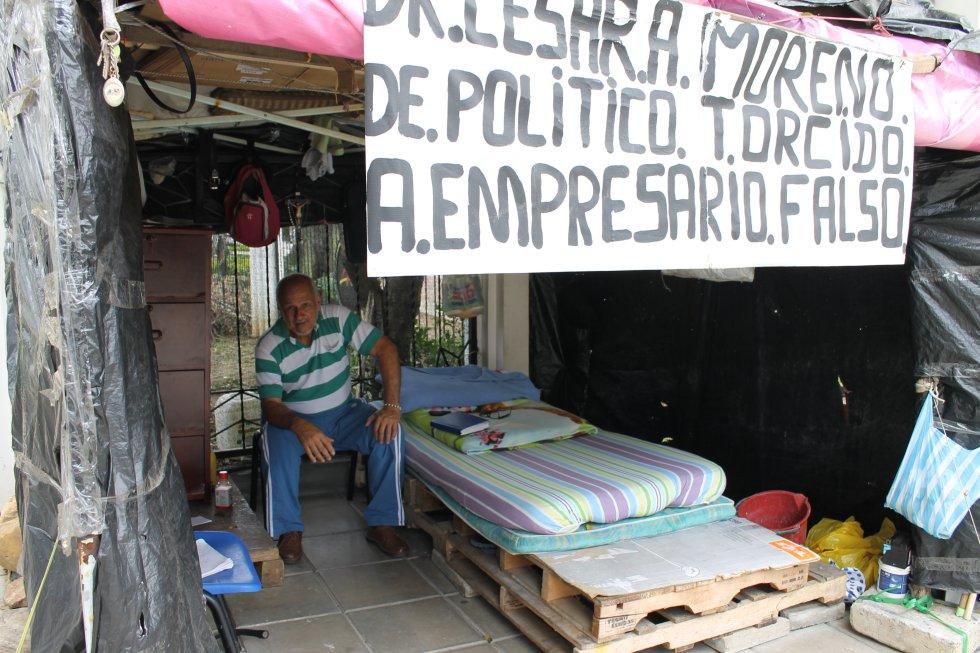 8 meses completó protesta de dueños de taxicamionetas por su derecho al trabajo