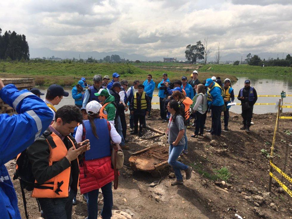 """""""El río ha cambiado enormemente, precisamente no es el caño que existió hace 12 años que yo hice la inspección"""" señaló Villamizar."""