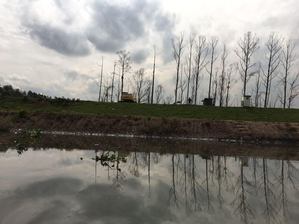 Esto después de que las autoridades hayan invertido $180.000 millones en la intervención hidráulica y hayan extraído 6 millones 500.000 toneladas de basuras, escombros y sedimentación, como lo señaló Néstor Franco, director de la CAR Cundinamarca.