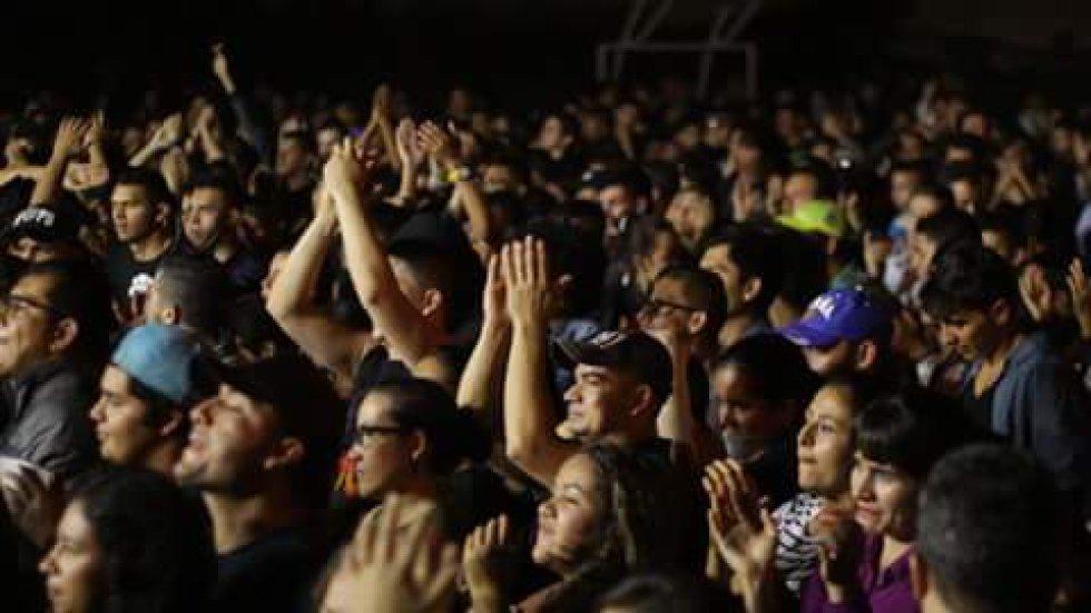 Cero riñas y alteraciones del orden público se registraron en el festival Recicla por el Rock.