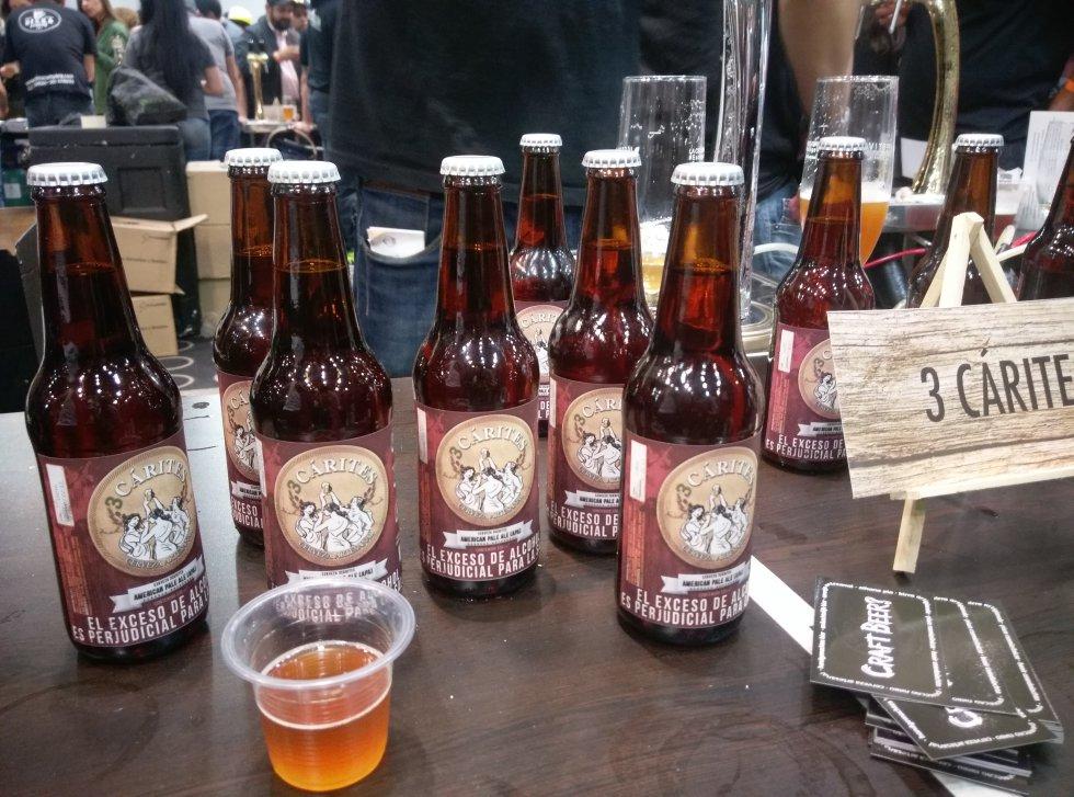 Cervezas de todo el país se dieron cita en el Festival.