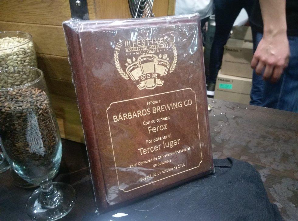 En el evento también se premió a la mejor cerveza artesanal del país, siendo en esta edición la cerveza Viteri, de Bogotá.   La cervecería Barbaros logró el tercer lugar.