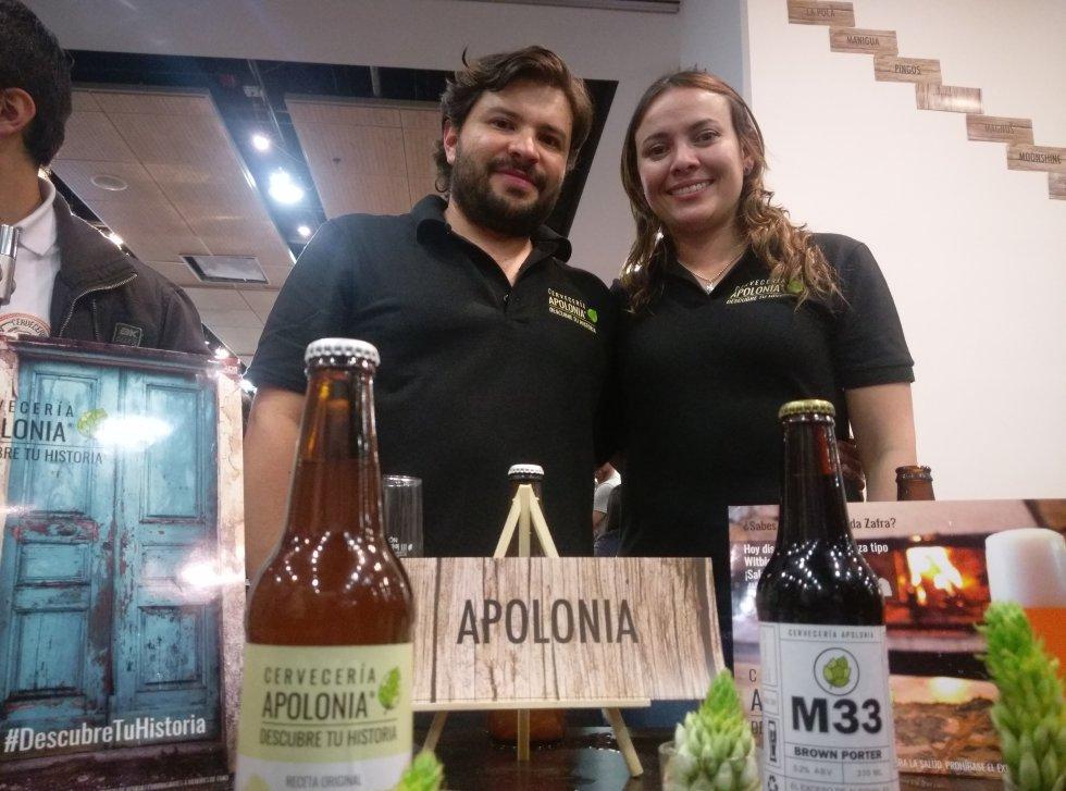 Una de las características del evento era poder conversar con los mismos productores de la cerveza quienes te explicaban las virtudes de su receta.