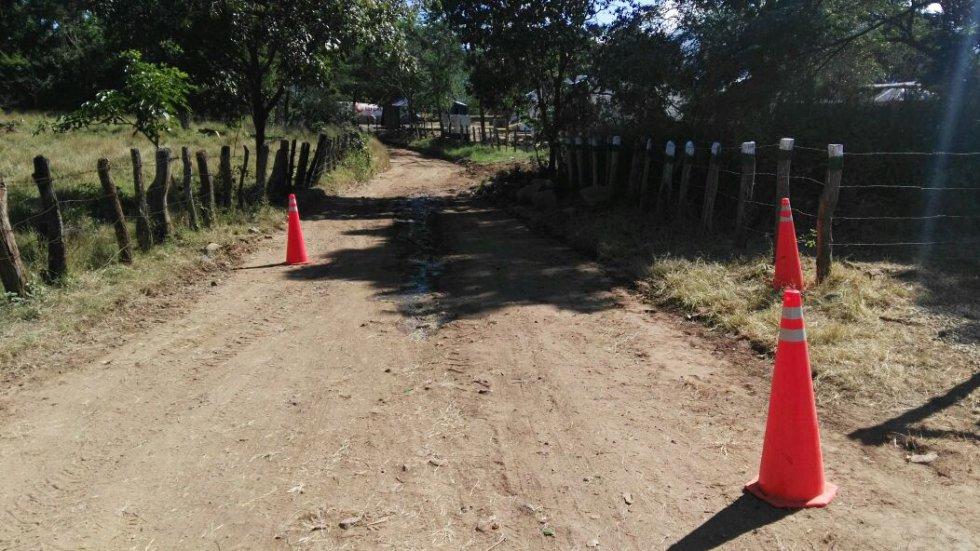 En la zona, ya hay campamentos del Ejército y la Policía instalados, cumpliendo con el requisito de mantener aislada la zona