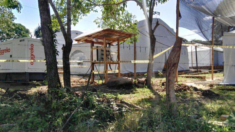 El campamento final ya cuenta con agua y energía, y funciona mientras se da el traslado, el mecanismo tripartito, ONU - Estado - Farc