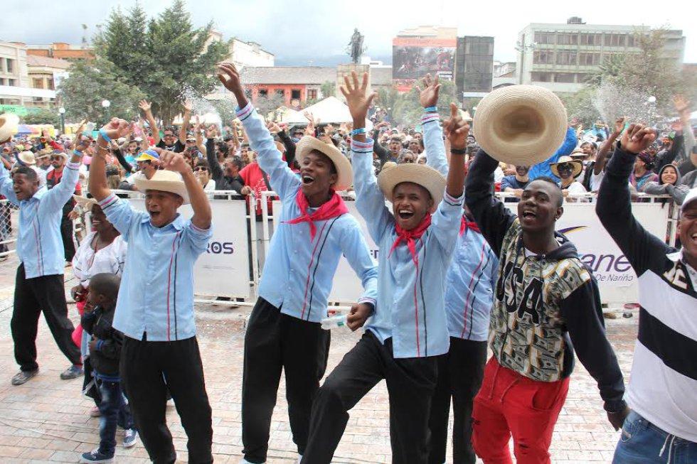 Los rítmos del pacífico sonaron en San Juan de Pasto para el deleite de propios y extraños