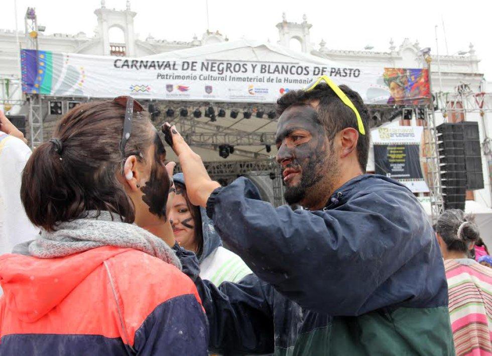 El cosmético es el protagonista en la capital de Nariño