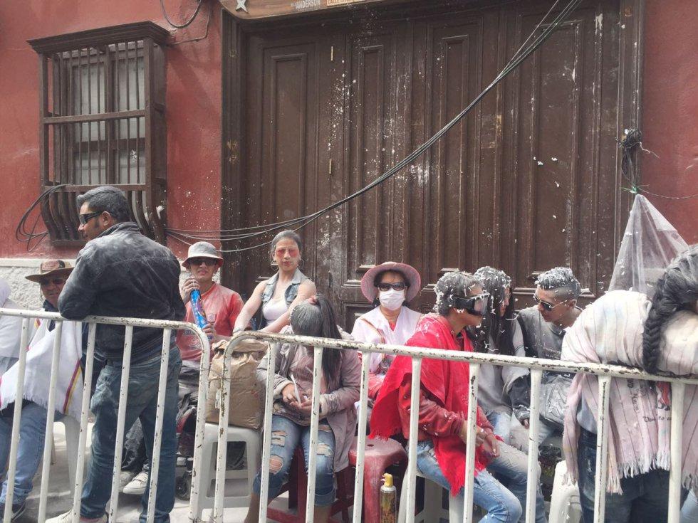 La carioca fue protagonista en los Carnavales de Pasto durante su jornada del 6 de Enero