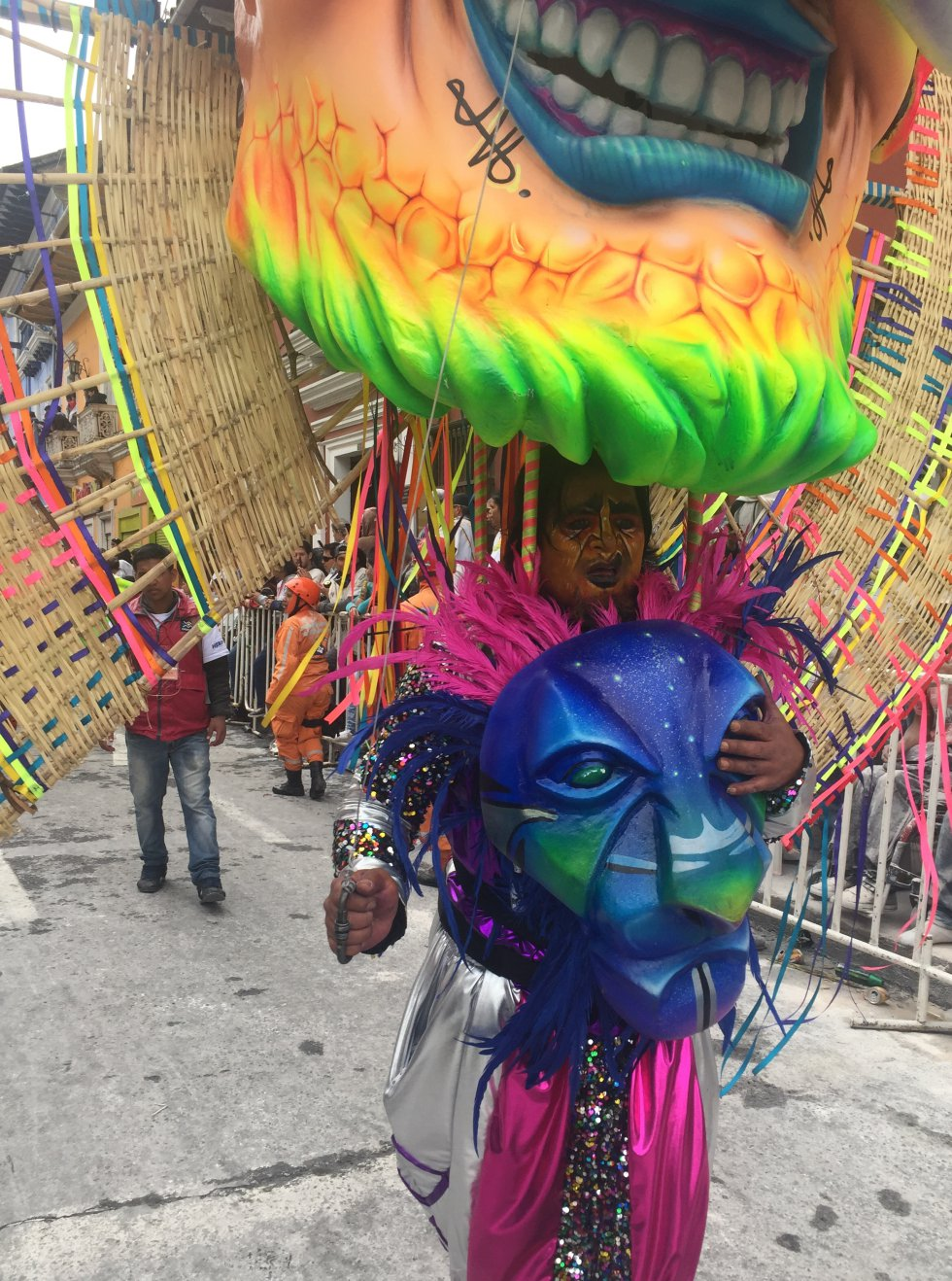 Personajes míticos y coloridos también hicieron gala de la creatividad de los artesanos nariñenses