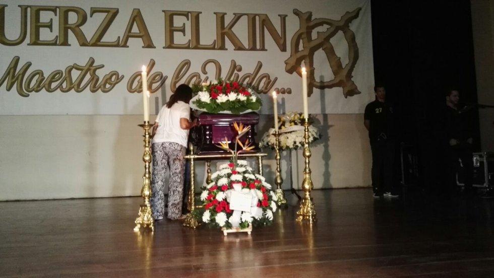 Elkin Ramirez falleció el domingo en horas de la mañana