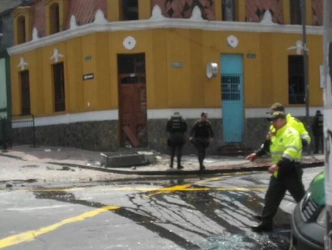 Los heridos fueron trasladados al Hospital Central de la Policía y al Hospital San Ignacio.