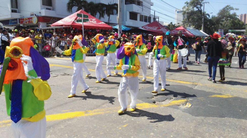 La tradición del carnaval tiene en sus días previos como protagonistas a los más pequeños.