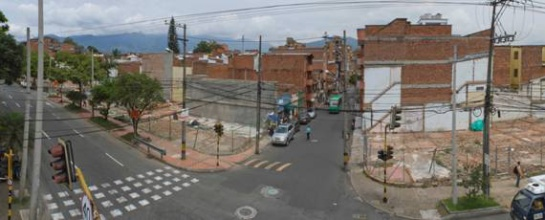 Troncal de Metroplús en Envigado (conexión a Medellín) FOTO: METROPLÚS