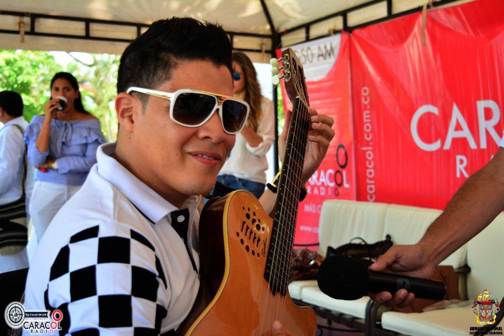 Rafa Pérez, reconocido acordeonero del ámbito musical.