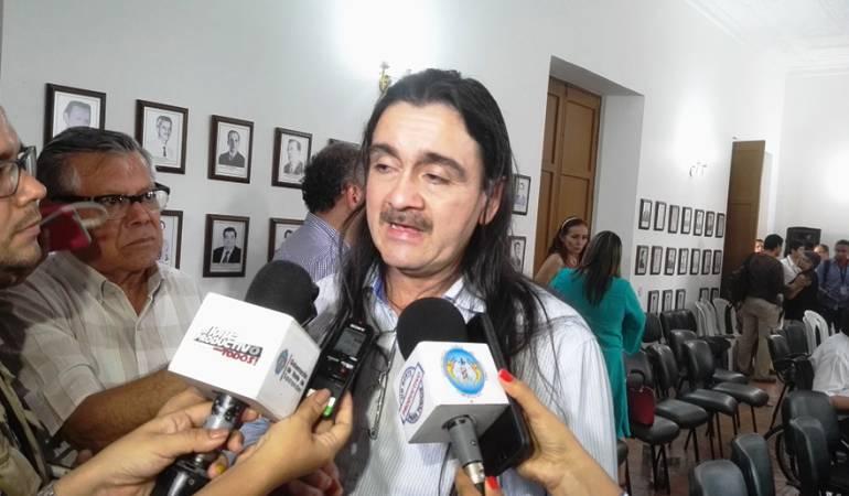Jairo Quintero delegado de las Farc en el consejo nacional de reincorporación