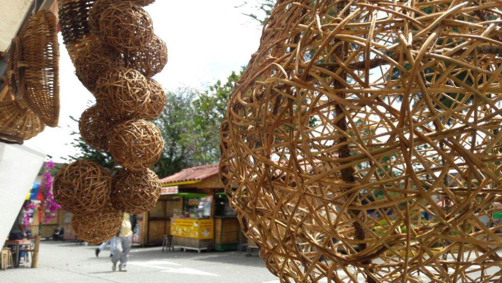 La tradicional del bejuco hizo parte fundamental de la fiestas de la colina iluminada del Quindío