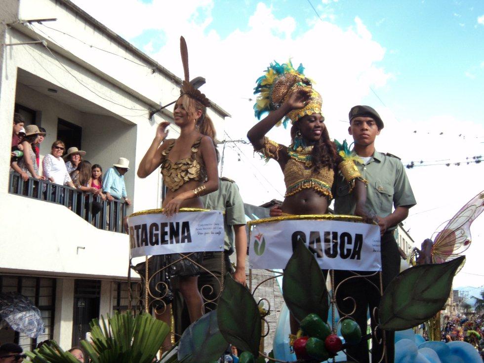 Cartagena, Nathalie Viviana Arrieta Ruíz y Cauca, Cindy Julieth Banguero Quintero