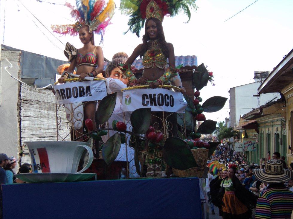 Córdoba; María José Acuña Durango y Chocó, Cindy Johana Mosquera Mosquera