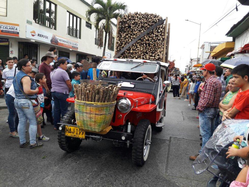 La carga, una de las modalidades más tradicionales del Yipao