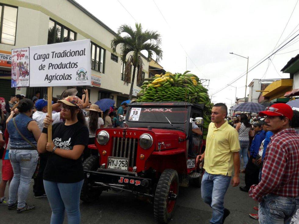 Los jeep willys son los vehículos utilizados para la carga agrícola como el plátano
