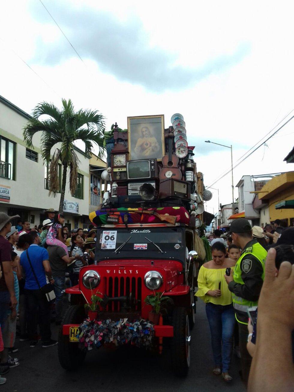 El coroteo campesino una de las modalidades más tradicionales del desfile
