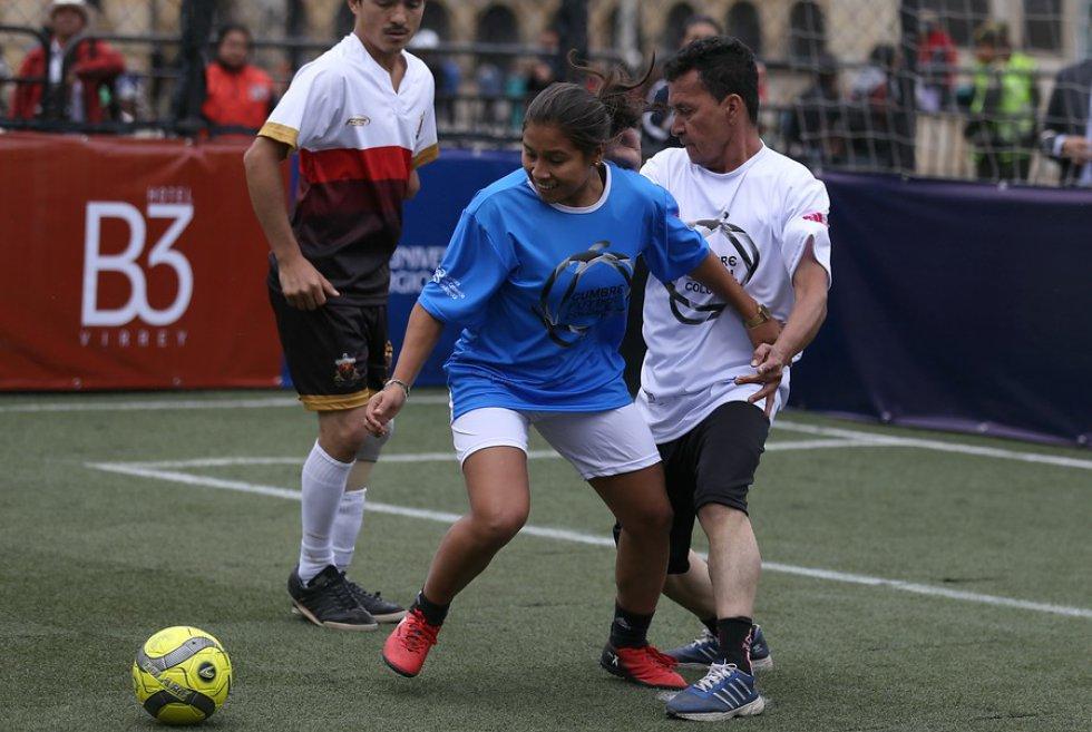 El partido hace parte de la Cumbre de Fútbol Colombia que se realizó el 23 y 24 de agosto.